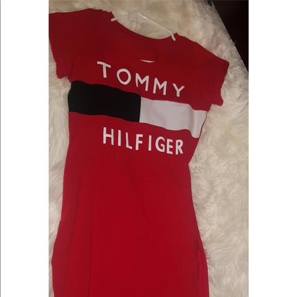 womens tommy hilfiger t shirt dress